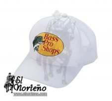 GORRA FL-0013-WHITE BASS PRO SHOP